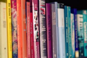 Colorful books for unit studies